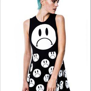 NWT KILLSTAR Sad Skater Dress Goth Punk weird